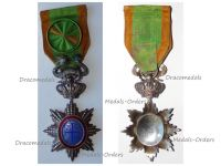 France Indochina Vietnam WWI Imperial Order Dragon Annam Officer's Star
