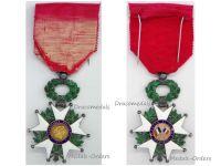 France WWI Order Legion Honor Knight's Cross 1870 French Military Medal Decoration WW1 1914 1918 Great War Eagle Hallmark