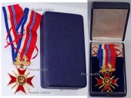 France Britain Franco-British Association Commander's Cross 2nd Type Boxed