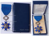 France National Order Merit Knight's Cross 5th Republic 1963 in Silver Boxed