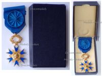 France National Order Merit Knight's Cross 5th Republic 1963 Boxed by the Paris Mint