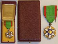 France WWI Order of Agricultural Merit 1883 Knight's Star Boxed