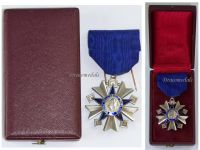 France WWII Order Public Health Knight's Star 1938 1963 Boxed