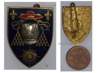 France 6th Regiment Cuirassiers Tank Badge French Army Armoured Troops Insignia Decoration Award 1964