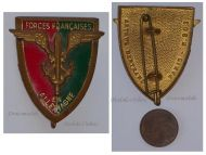 France French Occupational Forces Germany Badge Army Insignia Decoration Award Maker Arthus Bertrand