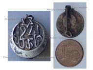 France WWI 24th Tunisian Rifle Regiment Badge by Drago
