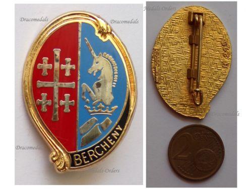 France 1st Regiment Hussar Parachutists Badge Bercheny by Drago