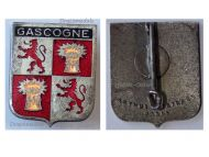 France I/19 Gascogne Bombardment Group Badge Armée de l'Air Indochina War French Air Force 1951 1955 Maker Arthus Bertrand