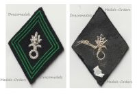 France Foreign Legion Cavalry Tank Troops Patch Model 1945