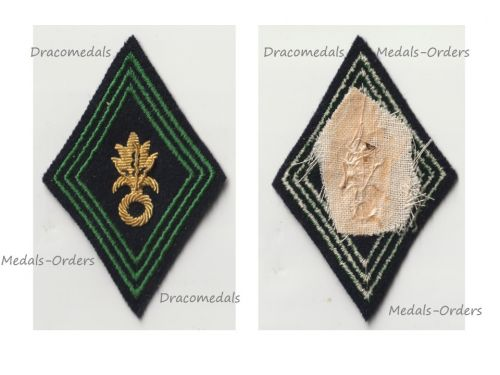 France Foreign Legion Infantry & Combat Engineers Patch Model 1945