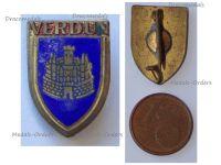 France WWI Verdun Patriotic Badge