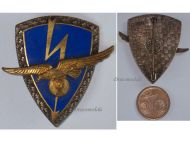 France Air Force 801st Transmission Squadron Badge French Armée de l'Air Insignia Decoration Award 1960 Drago