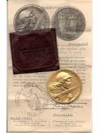 France WW1 Verdun medal 1916 on ne passe pas 1914 1918 Vernier Silver Gilt Decoration Generals Diploma Great War Award
