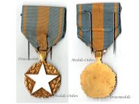 France WWI Wound Medal for Civil Personnel Circular Type