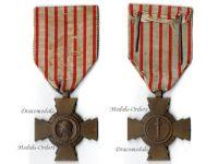France WWI Combatants Cross by the Paris Mint