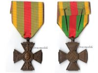 France WW1 Cross Volunteers Combatants WWI 1914 1918 Medal French Decoration Great War Paris Mint