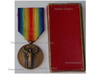 France WWI Victory Interallied Medal by Morlon Laslo Official Type Boxed