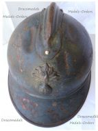 France WWI Adrian Helmet M15 1915 for Infantry & Cavalry Regiments