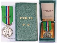 France WWII Commemorative Medal of the Prisoners of War Federation FNCPG 1939 1945 Rare Type Boxed by Welter