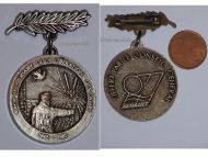 France WW2 Liberation Concentration Camps Prisoners War 40th Anniversary Badge 1945 1985 PoW Decoration