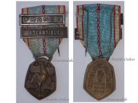 France WW2 Commemorative Military Medal bars Atlantic France Free French 1939 1940 WWII Decoration Blitzkrieg 1945