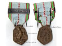 France WW2 Commemorative Military Medal bar Liberation Free French 1939 1940 Decoration Blitzkrieg WWII 1945