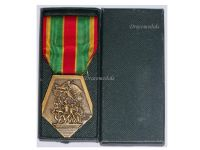 France Medal of the French National Federation of Volunteer Combatants FNCV Bronze Class Boxed