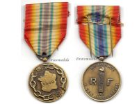 France WW2 Liberators Commemorative Military Medal Free French 1939 1944 Decoration WWII 1945 DDay