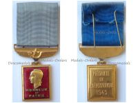 France WWII Aeronautical Medal 1945 by the Paris Mint