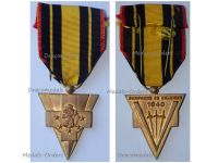 France WWII Belgian Campaign 1940 Commemorative Medal