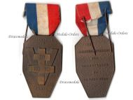 France WW2 Liberation Paris Combatants 1944 Military Medal Free French Maquis Resistance WWII 1940 1945 FFI FFL