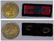 France National Defence Military Medal ribbon bar Infantry Occupation Germany 1945 French Decoration Award