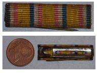 France WW1 Fire Fighter Meritorious Service Civil Medal Ribbon bar WWI 1914 1918 French Military Decoration