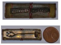 France WW2 Commemorative Military Medal Ribbon bar Liberation Germany WWII 1939 1945 French Decoration