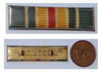 France WWI Ribbon Bar Wound Medal 1st Type