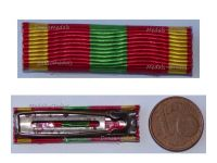 France WWII Ribbon Bar Volunteer Combatants Cross 1939 1945