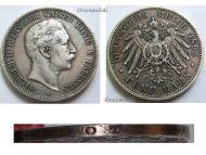 Germany Prussia 5 Mark 1895 A Silver Coin Kaiser Wilhelm II Berlin Mint