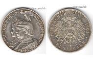 Germany Prussia 5 Mark 1901 Silver Coin 200th Anniversary German Empire Kaiser Wilhelm II Berlin Mint