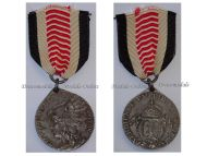 Germany South West Africa Colonial Medal Steel for Non Combatants of the Herero Mamaqua Rebellion 1904 1906 by Schultz