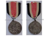 Germany South West Africa Colonial Medal Steel for Non Combatants Herero Mamaqua Rebellion 1904 1906 by Schultz