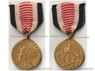 Germany South West Africa Colonial Medal Bronze Gilt for Combatants of the Herero Mamaqua Rebellion 1904 1906 by Schultz