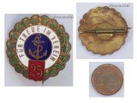 Germany WW1 Imperial Navy War Veterans Association Fleet badge brooch pin War WWI 1914 1918 Decoration