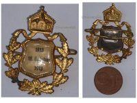 Germany Saxony WW1 Centenary Prussia Battle Leipzig 1813 1913 Patriotic pin German Decoration Award