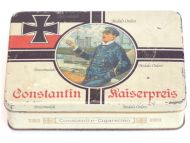 Germany WWI Constantin Kaiserpreis Cigarette Box for 100 N.55 Cigarettes