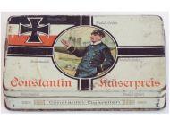 Germany WWI Constantin Kaiserpreis Cigarette Box for 50 N.55 Cigarettes