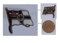Germany WW1 Imperial Navy Flag Kaiserliche Marine cap badge