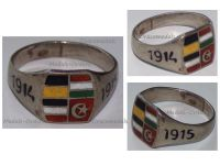 Germany WWI Silver Ring Austria Hungary Ottoman Empire Central Powers United Empires 1914 1915