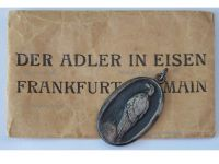 Germany WW1 Pow Prisoners War Captivity Aid Relief Patriotic Military Medal Eagle in Chains WWI 1914 1918 German Decoration Envelope