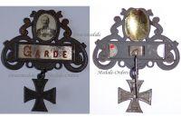Germany WW1 Prussia Guards Corps Patriotic Badge Kaiser Wilhelm 1914 1918 Decoration German Great War
