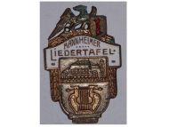 Germany WW1 Baden Kingdom Music Association Mannheim 1840 pin German Empire Kaiser Wilhelm